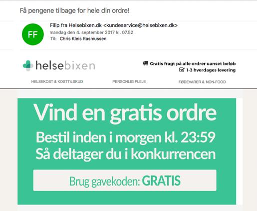 Helsebixen - Ugedag