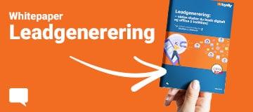 Whitepaper: Leadgenerering – sådan skaber du leads digitalt og offline i butikken