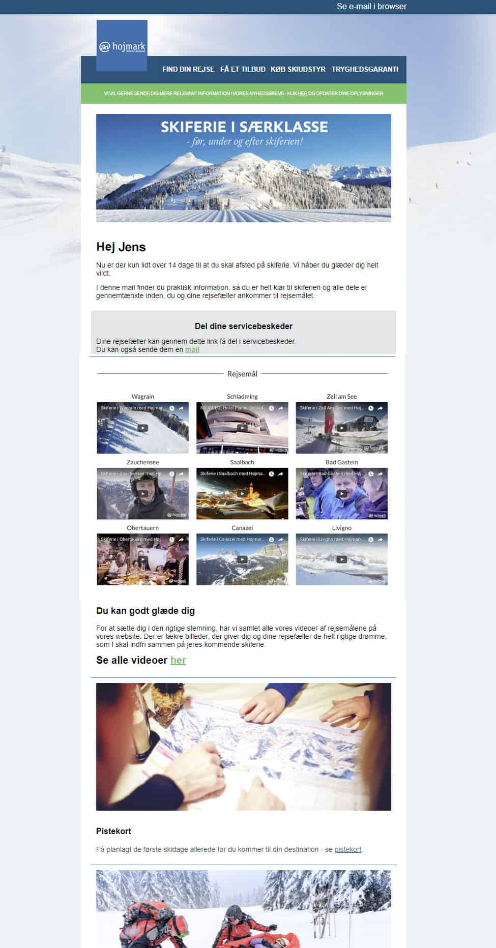 Marketing automation hos Højmark Rejser