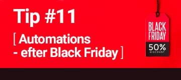 Hvilke automations skal du sende efter Black Friday?