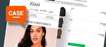 Case: Tabt kurv-automatisering skaber vilde tal for e-commerce hos fashion-virksomheden Zizzi